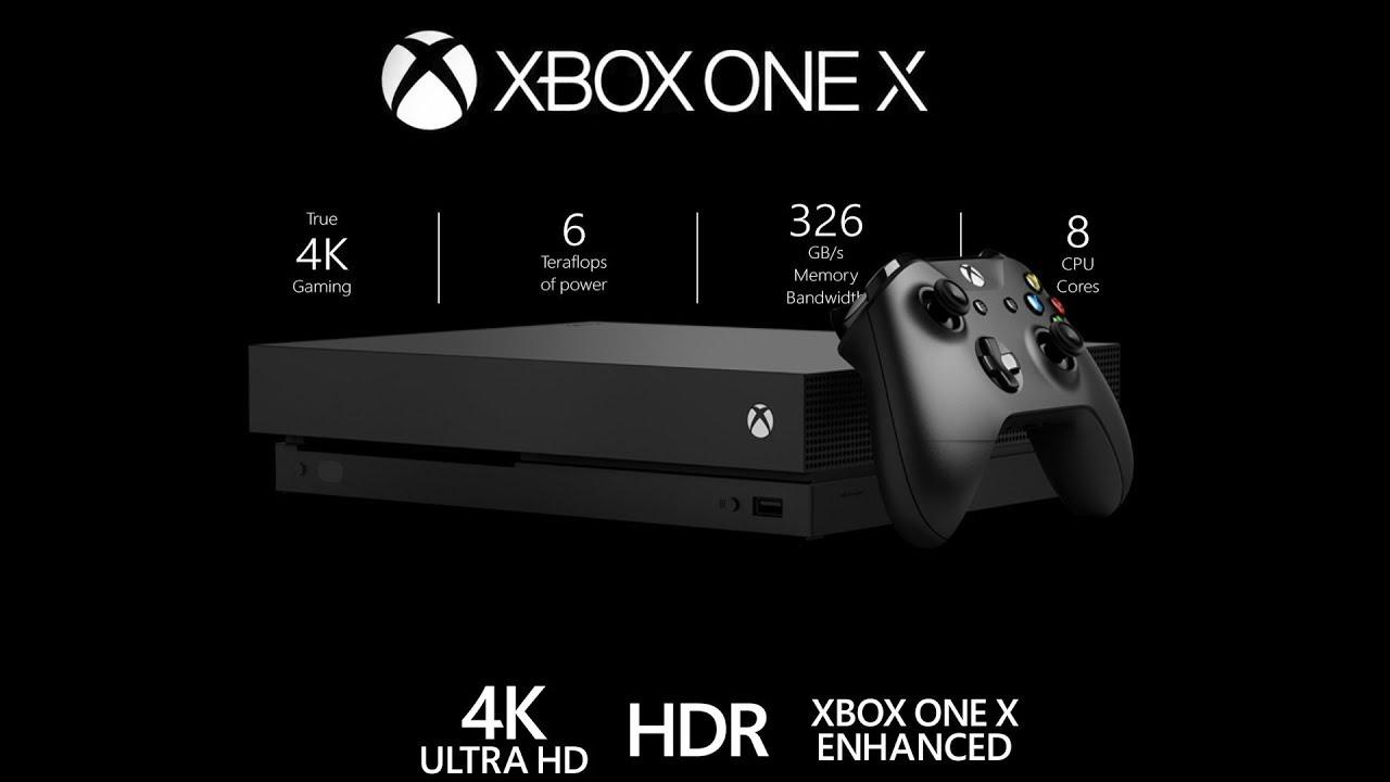מיקרוסופט Microsoft Xbox One X 1TB