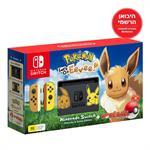 Nintendo Switch Pokémon Let's Go Eevee Bundle יבואן רשמי