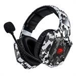 אוזניות גיימינג Dragon Combat Camouflage Gaming HeadSet