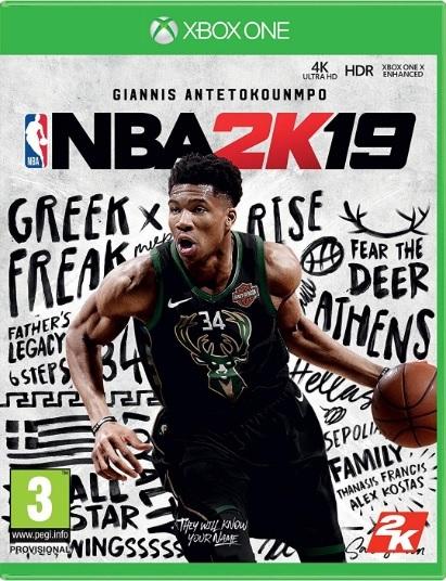NBA 2K19 Xbox One מכירה מוקדמת