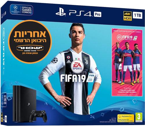 Sony PlayStation 4 Slim 1TB FIFA 19 Champions Edition סוני